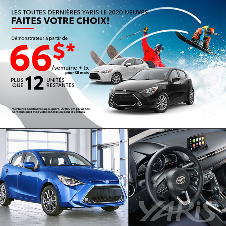 Toyota Yaris LE 2020