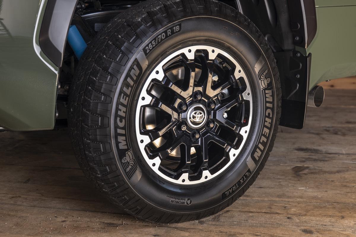 Roue Michelin de 18 ou 20 pouces du Toyota Tundra 2022